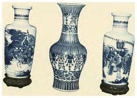 Tall Blue and White Kangxi Vase